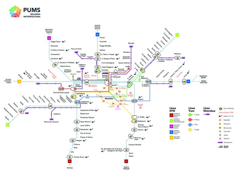 """Tutti i progetti per una """"rivoluzione"""" sostenibile della mobilità metropolitana, adottato il PUMS"""