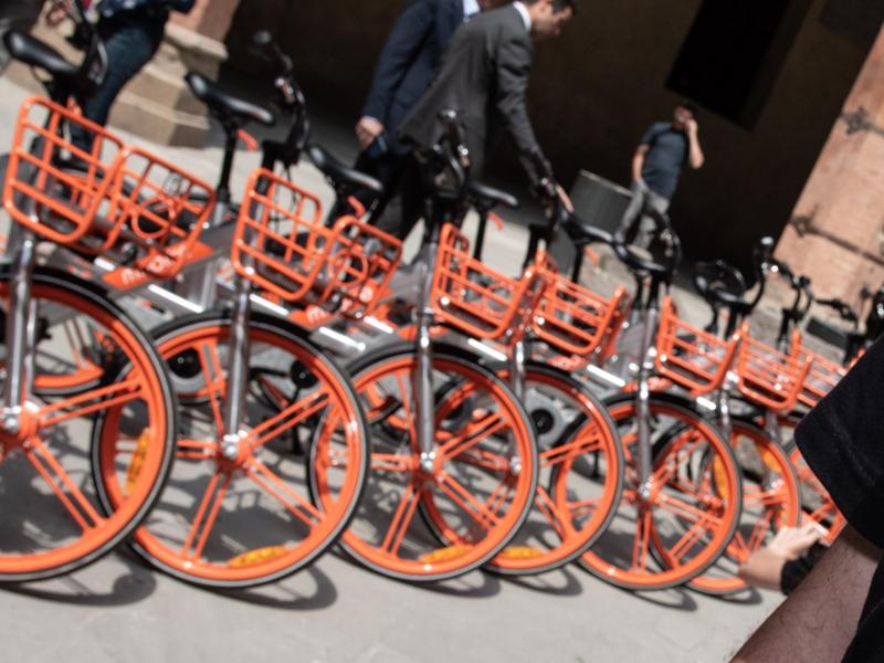 Ecco le bici di Mobike: il gestore del bike-sharing è arrivato a Bologna