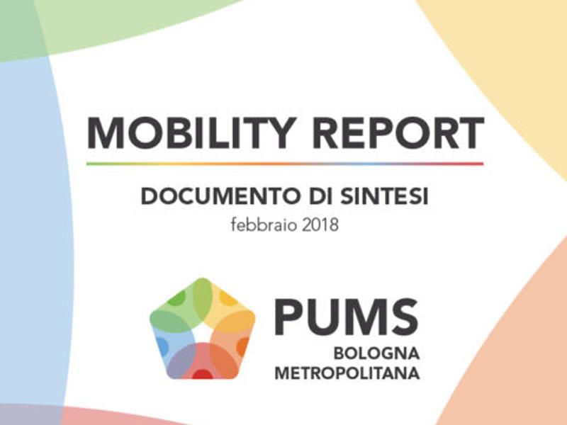 Mobility report: i dati della mobilità nella città metropolitana di Bologna