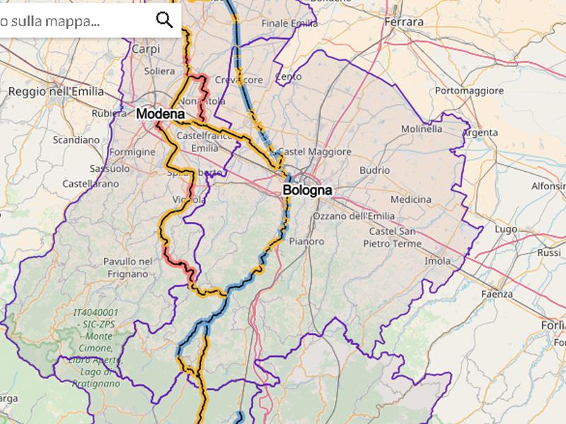 Ciclovia del Sole: online il nuovo sito con mappa interattiva del percorso