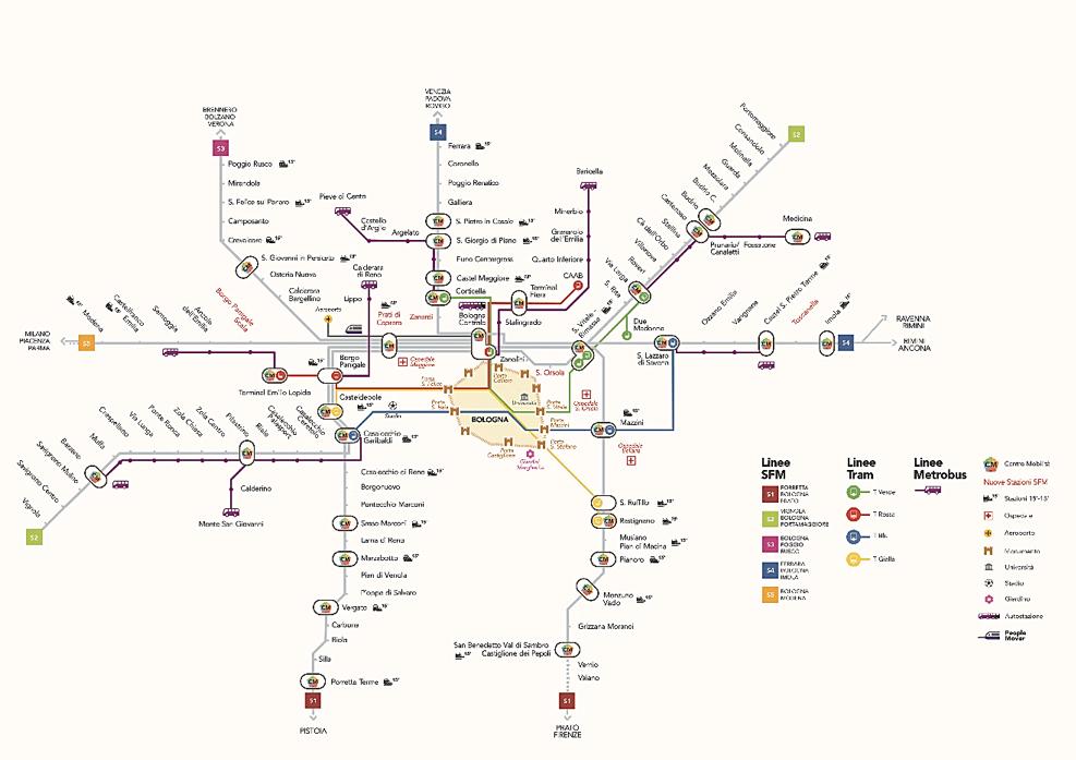 Trasporto pubblico aziende e aree industriali